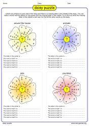 https://edu-games.orgThe logo of the word shuffle game daisy.